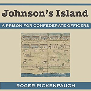 """Audiobook """"Johnson's Island"""" narrated by Michael E. Smith."""